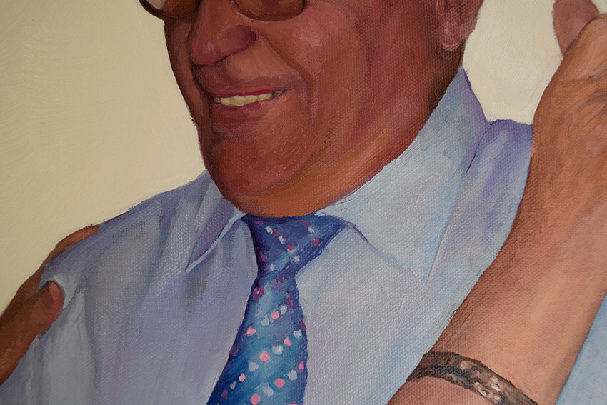 retratos al oleo