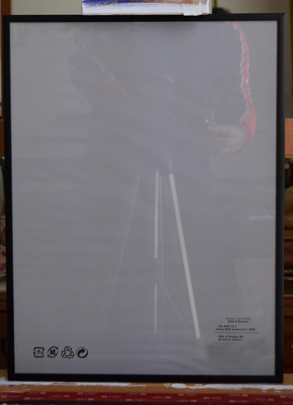 retratos por encargo marco-a3-negro-aluminio