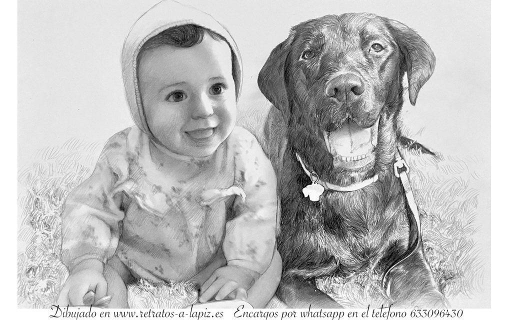 retratos de perros